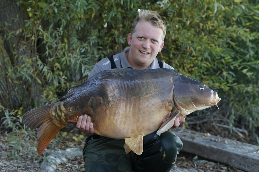 Jake Taylor, 39lb 12oz, The Alamo, 8.10.16