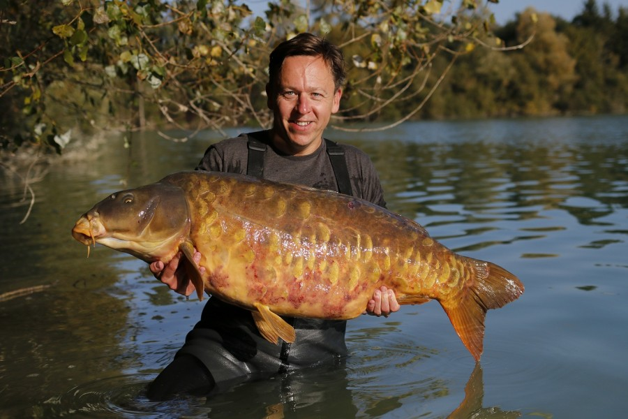 Neil Lunn, 57lb 12oz, Bob's Beach, 8.10.16