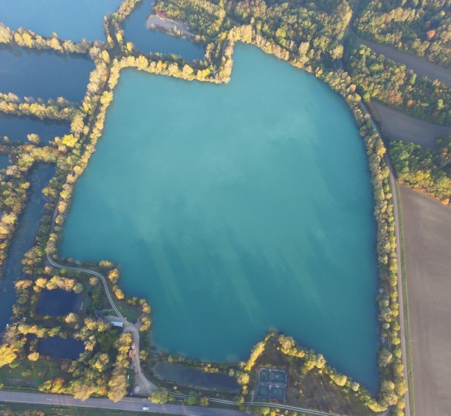 A birds eye view of the Main Lake