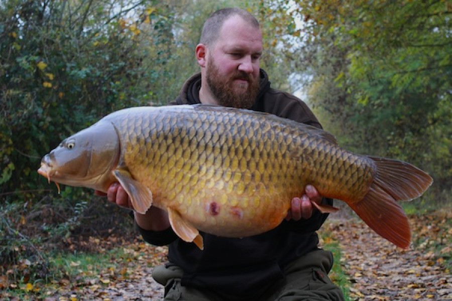Anders Frank with Mammut at 42lb from Oblivion in October 2016