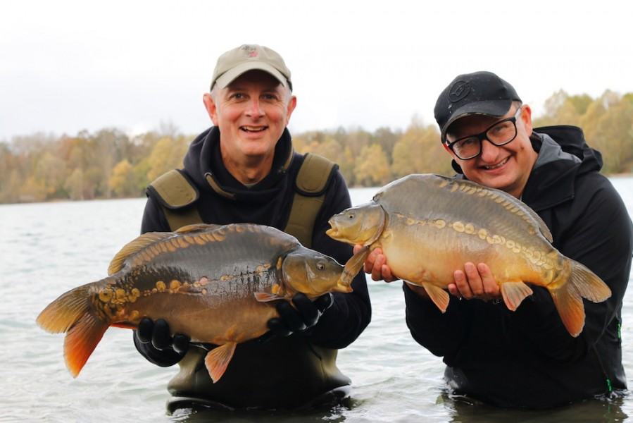 The first fish to be introduced since DF bought Gigantica...a historic moment