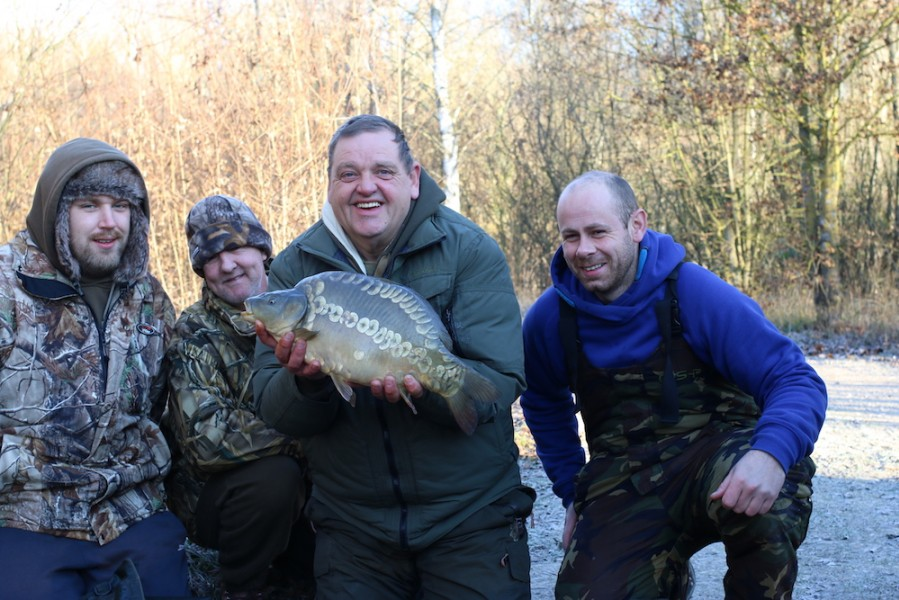 The first of the newly stocked fish to make an appearance....well done Andy Phillips and the gang