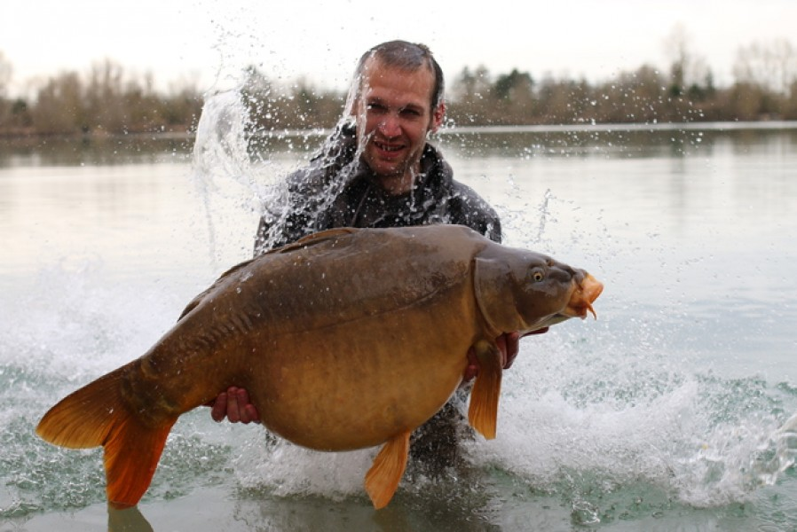 Gary Edwards, 44lb 8oz, The Stink, 28.2.17