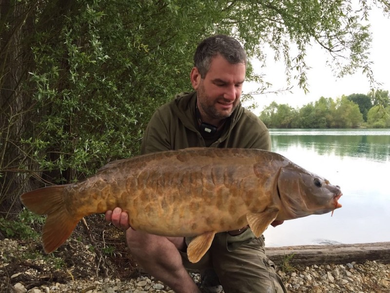Lee Jenkinson with Moroccan Sunset at 23lb 10oz from The Alamo 29.4.17