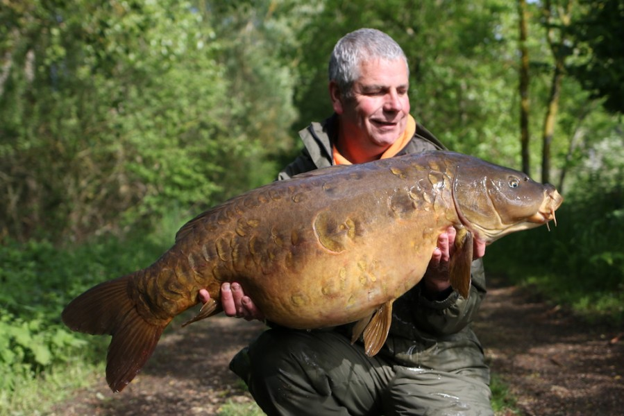 Andy Curtis, 46lb 8oz, The Alamo, 20.05.17