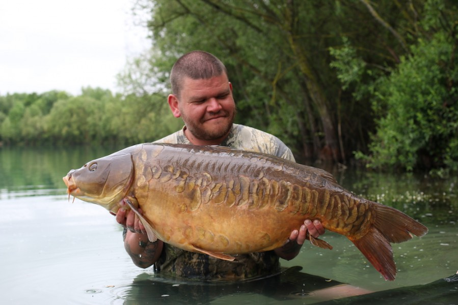 Dan Stroud, 41lb, Big Girls, 20.05.17