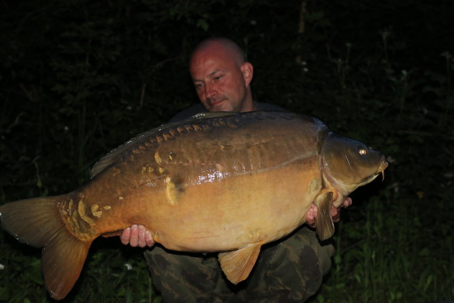 Adam Aldridge, 45lb, Scottie's Corner, 13.05.17