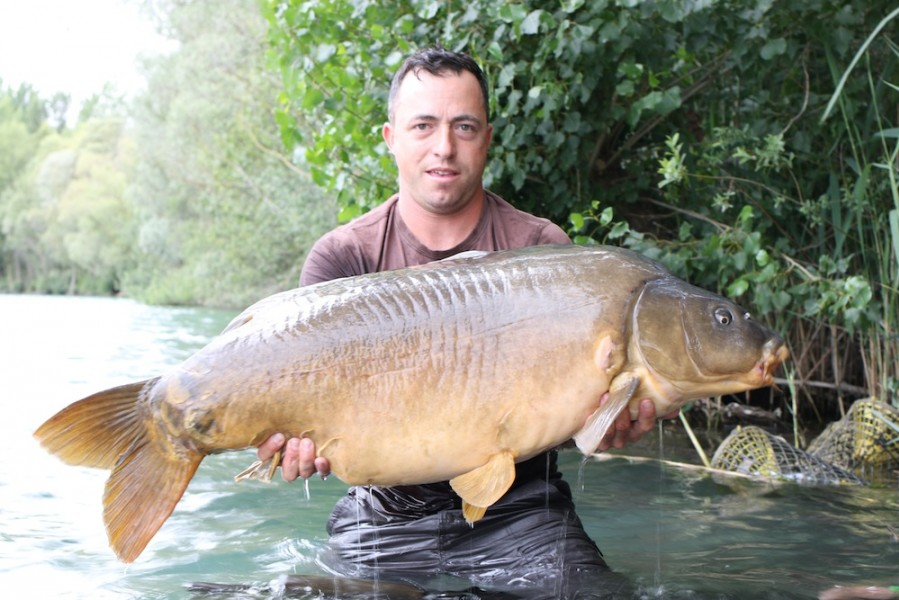 Paul Carpenter with Pips at 54lb 8oz from The Alamo 24.6.17