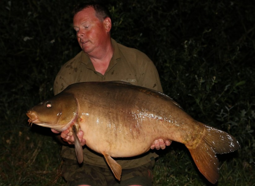 Dave Anderson with The Clean Fish at 40lb from Oblivion 24.6.17