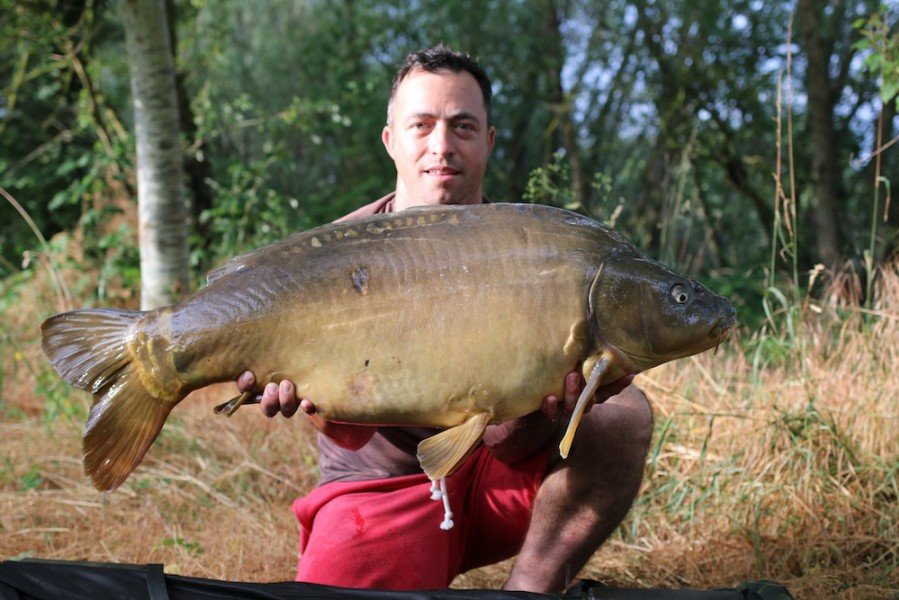 Paul Carpenter with The Rudder at 38lb 12oz from The Alamo 24.6.17