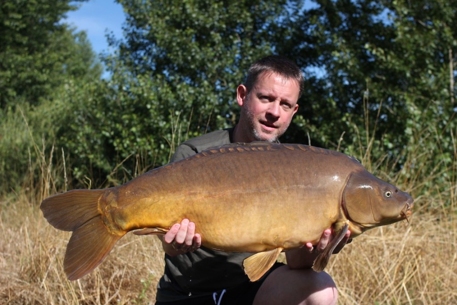 Stefan Rodowicz with short Dorsal at 30lb Pole Position 1.7.17