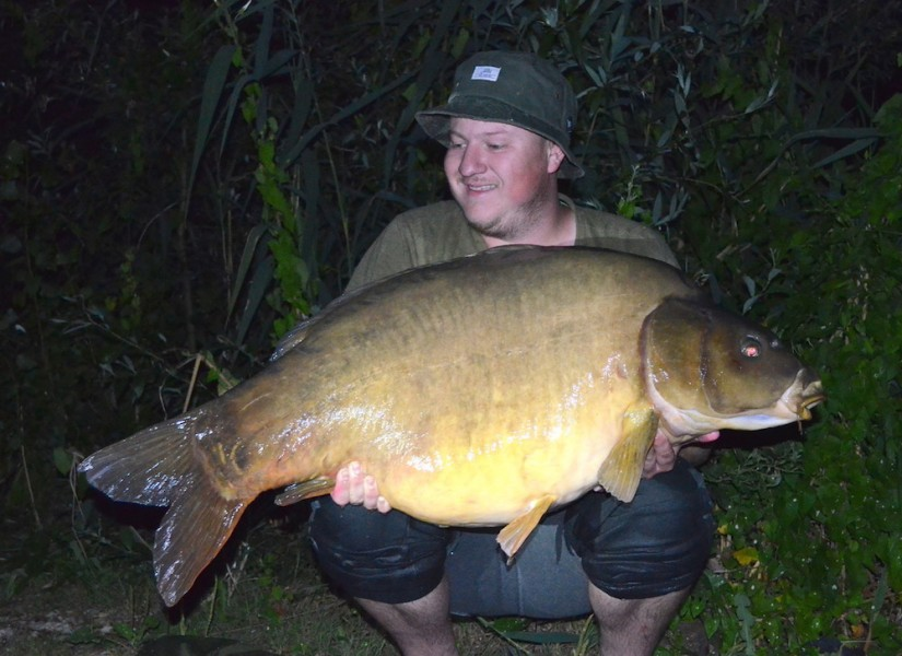 Steve Bartlett with Ziggy Stardust at 56lb from Alcatraz 8.7.17