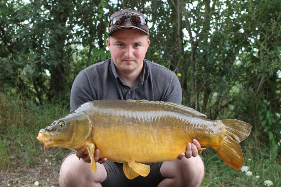 Ashley Marsh with 24lb mirror from Pole Position 15.7.17