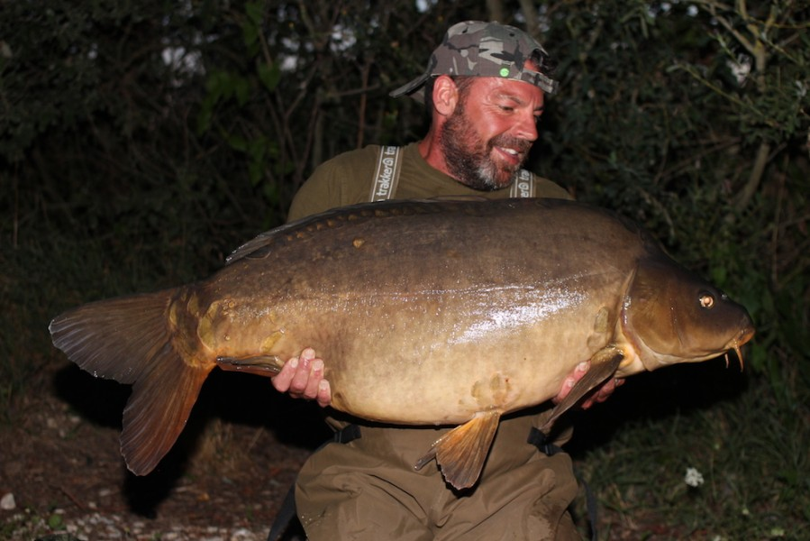 Buzz with The Unkown Mirror at 47lb from Oblivion 22.7.17
