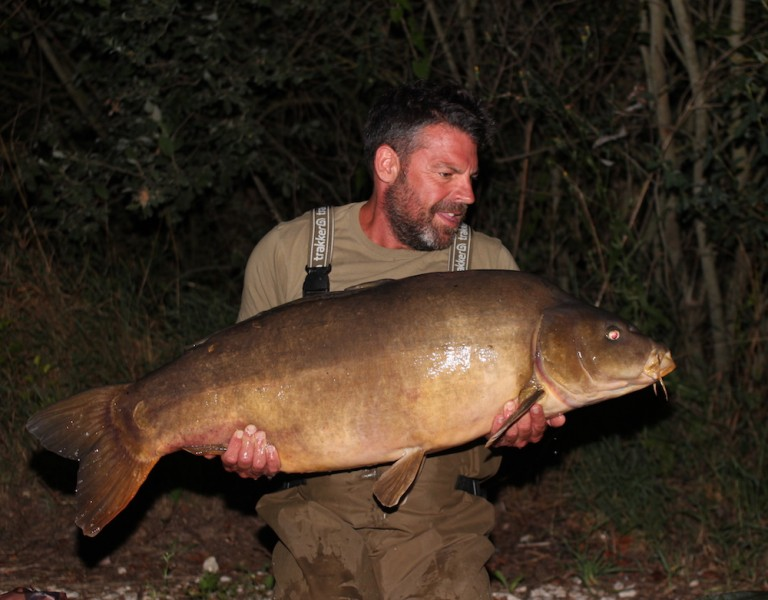 Buzz with the Spotty Leather at 46lb from Oblivion 22.7.17
