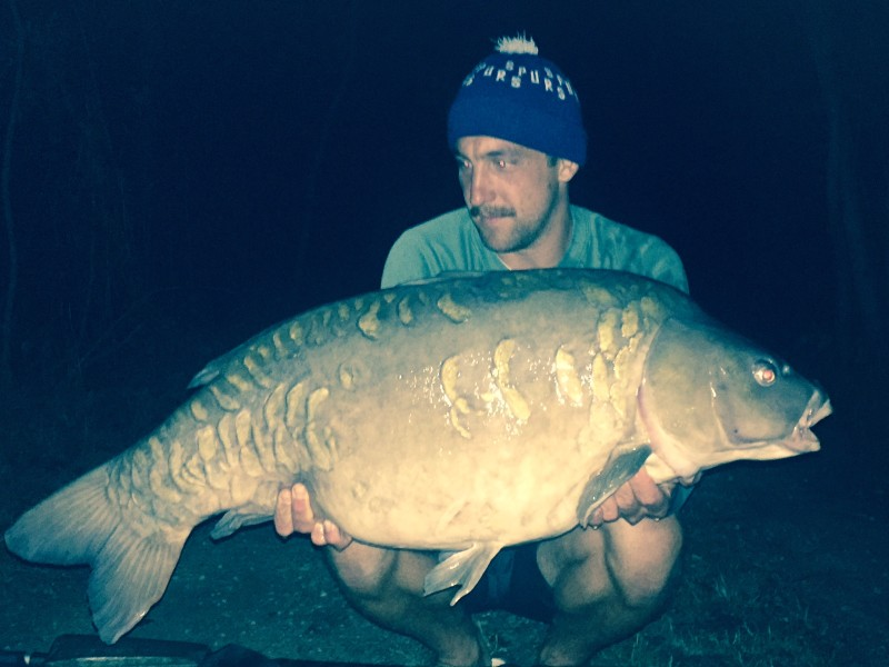 James Hayden, 41lb, Big Southerly, 22.7.17