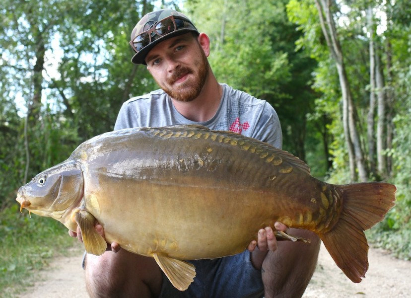 Deacon Olley with the Face at 45lb 06.08.2017
