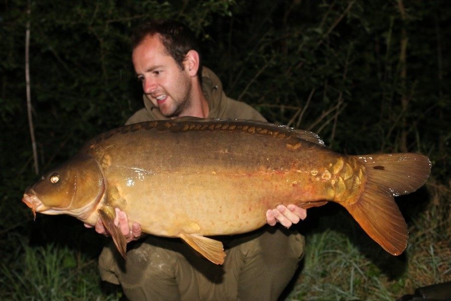 Tom with Star Burst at 34lb 09.08.2017