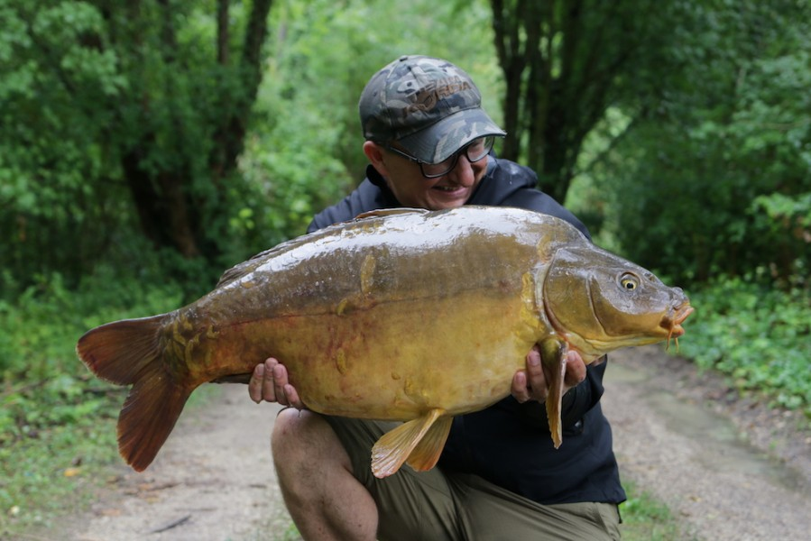 "DF with the newly named ""Catch Report"", 33lb, Scotties Corner, 19/08/17"