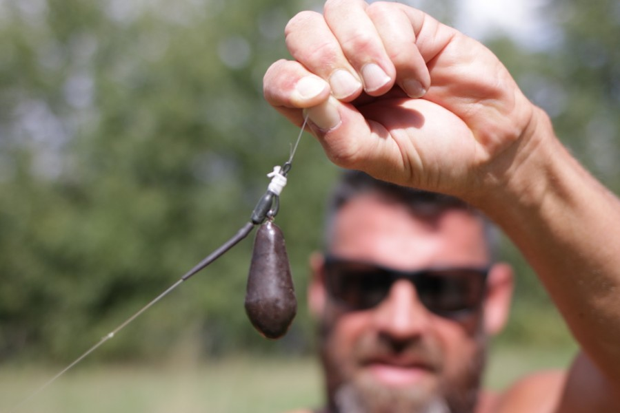 Ditch the tail rubber and just use PVA tape to secure the lead when fishing zigs.