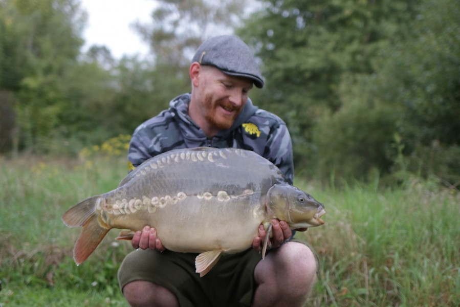 Ian Brown, 21lb 4oz, Pole Position, 23.08.17