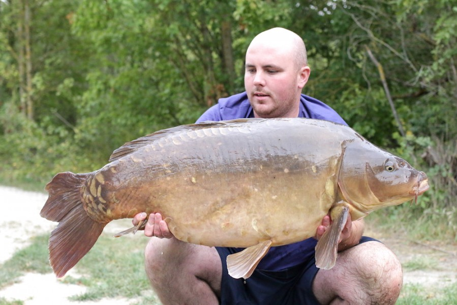 Gaz Harrison, 53lb 4oz, Co's Point, 2.9.17