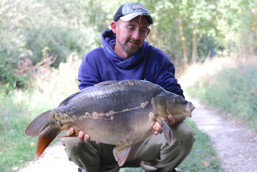 Chris Clarke, 22lb, The Stink, 2.9.17