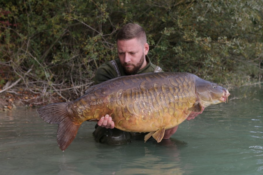 39lb of King Fully. Truly unique in France 23.09.17