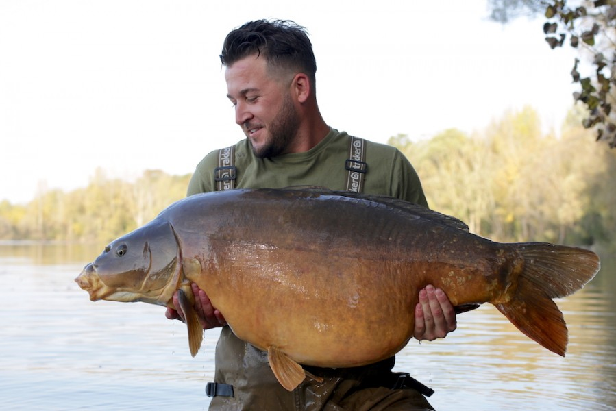 Luke Cornelius, 60lb 8oz, The Alamo, 14.10.17