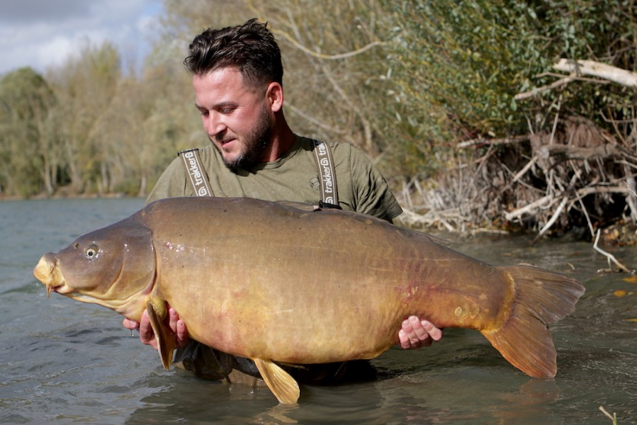 Luke Cornelius, 55lb 8oz, The Alamo, 14.10.17