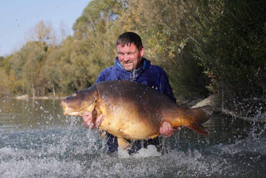 It's not just visiting anglers who catch new PB's