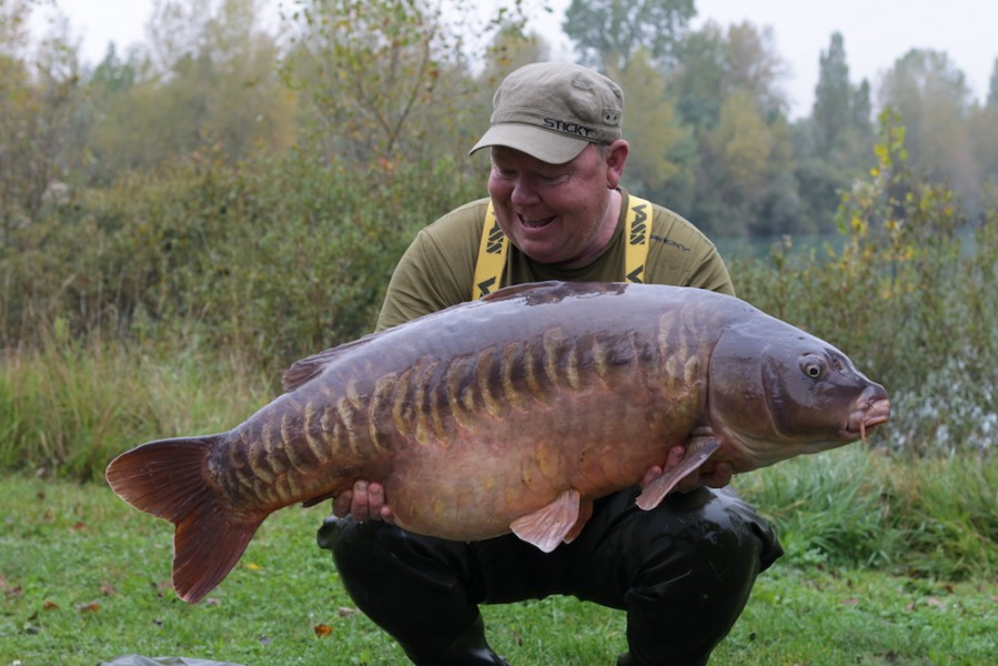 Billy with the Snags Linear at 51lb