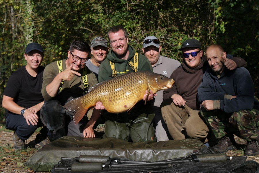 Some of the gang with Rusty and Mammut at 46lb