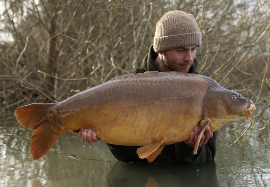 Joe Atkinson, 34lb 12oz, Oblivion, 24.3.18
