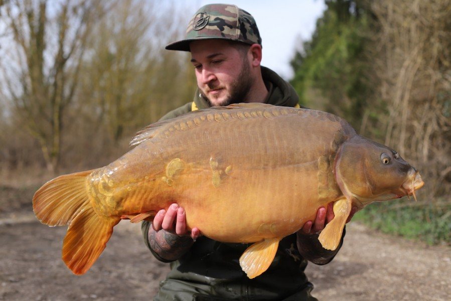 Luke Cornelius, 35lb 8oz, Co's Point, 24.3.18