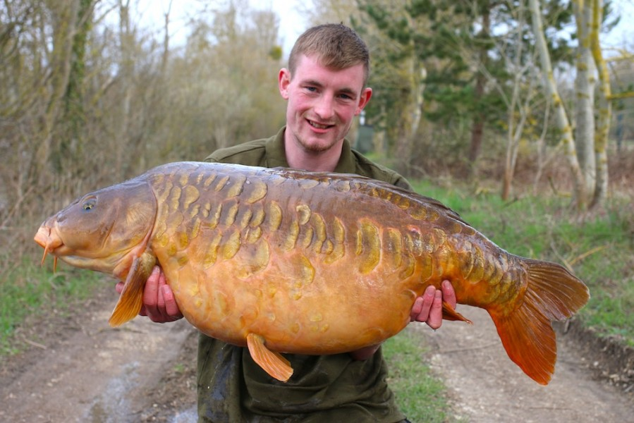 Ricky Papworth, 45lb 8oz, Big Girls, 01.04.18