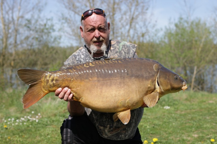 Andy Royal, 42lb, Pole Position, 16.04.18