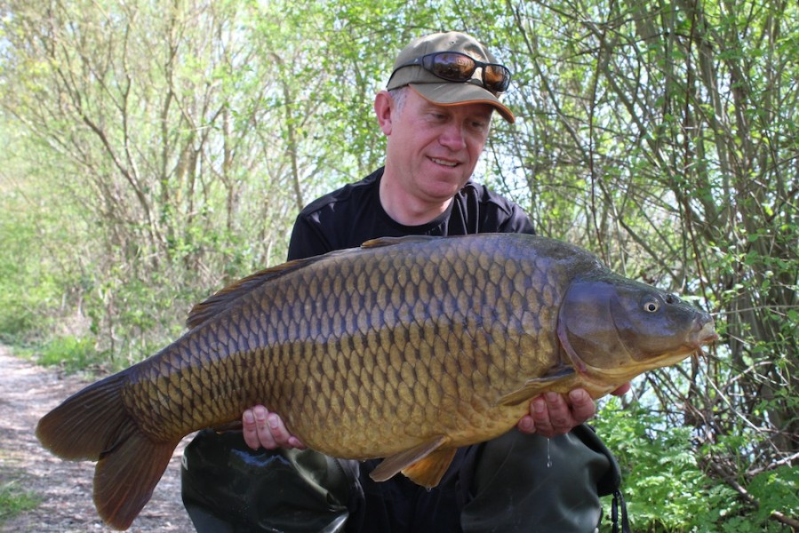 Dan Cleary, 31lb 8oz, The Stink, 19.04.18