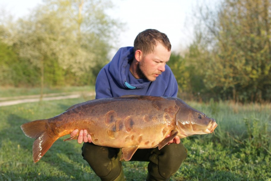 James the Bailiff, 31lb 12oz, Pole Position, 18.04.18