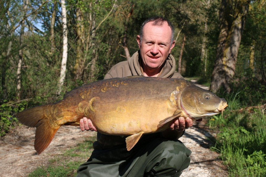 Dan Cleary, 35lb 8oz, The Stink, 19.04.18
