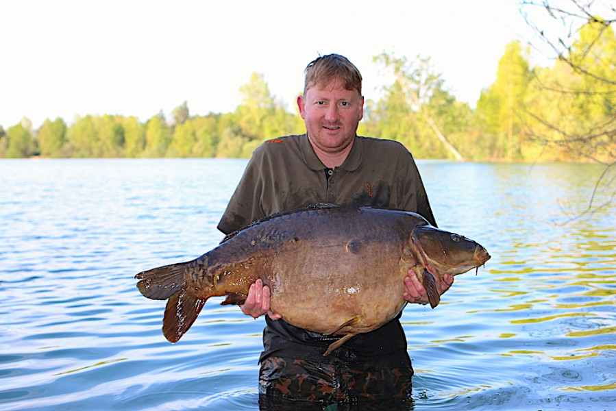 Eric Hintzen, 45lb, Big Southerly, 21.4.18