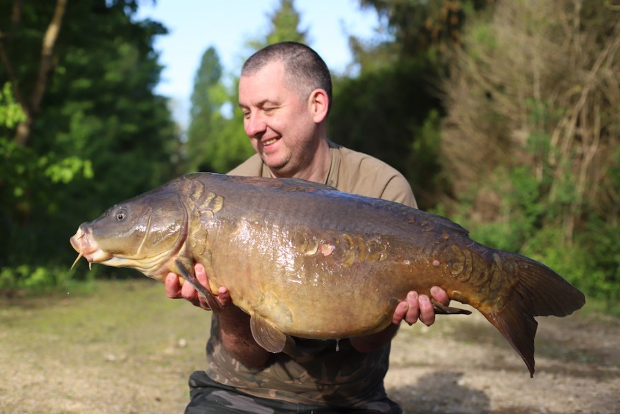 Wayne Beadle, 38lb, Co's Point, 28.4.18