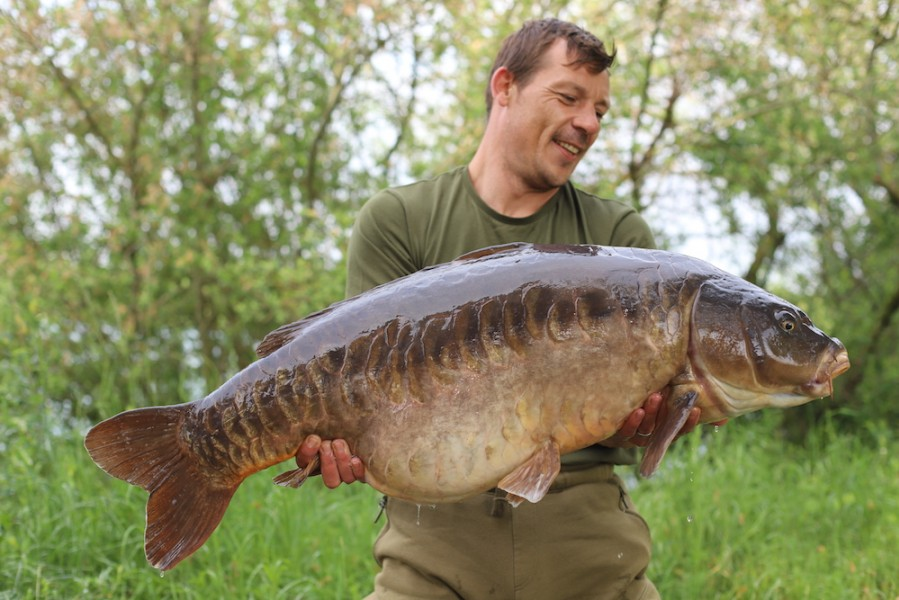 Lee Recci, 46lb 8oz, Oblivion, 5.5.18