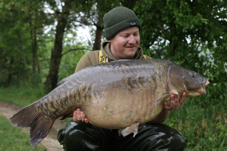 Steve Bartlett, 45lb 8oz, Big Girls, 12.5.18
