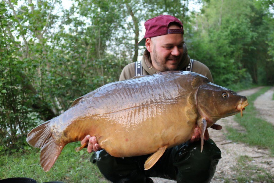 Stefan Luther, 42lb 4oz, Big Southerly, 19.5.18