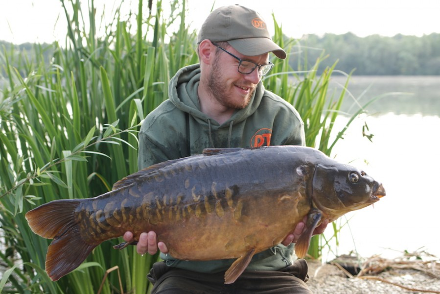 George Tutton, 28lb 8oz, Stock Pond, 30.6.18