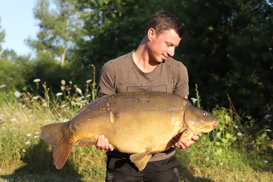 John Pike, 48lb, Stock Pond, 14.7.18