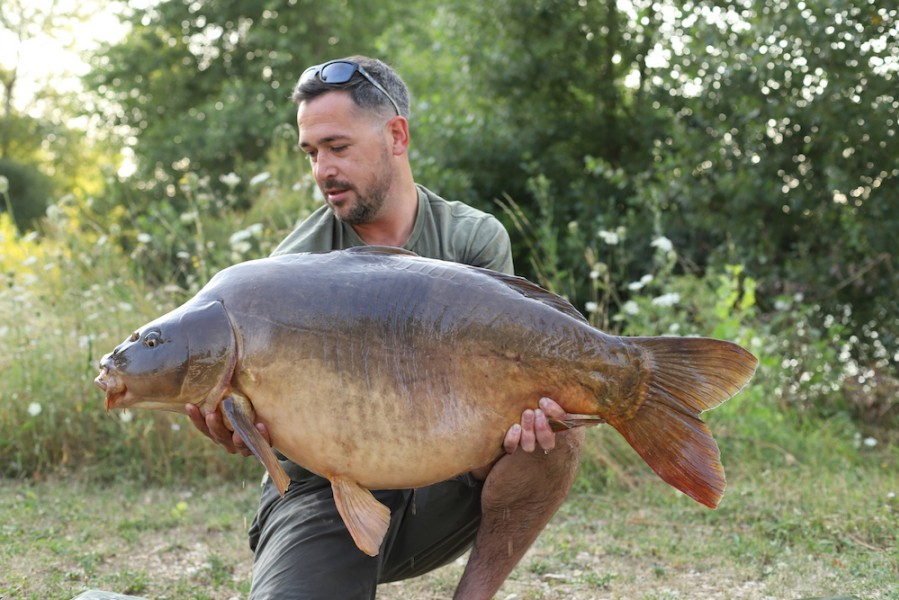Sean Aldrich, 44lb 4oz, Stock Pond, 21.7.18