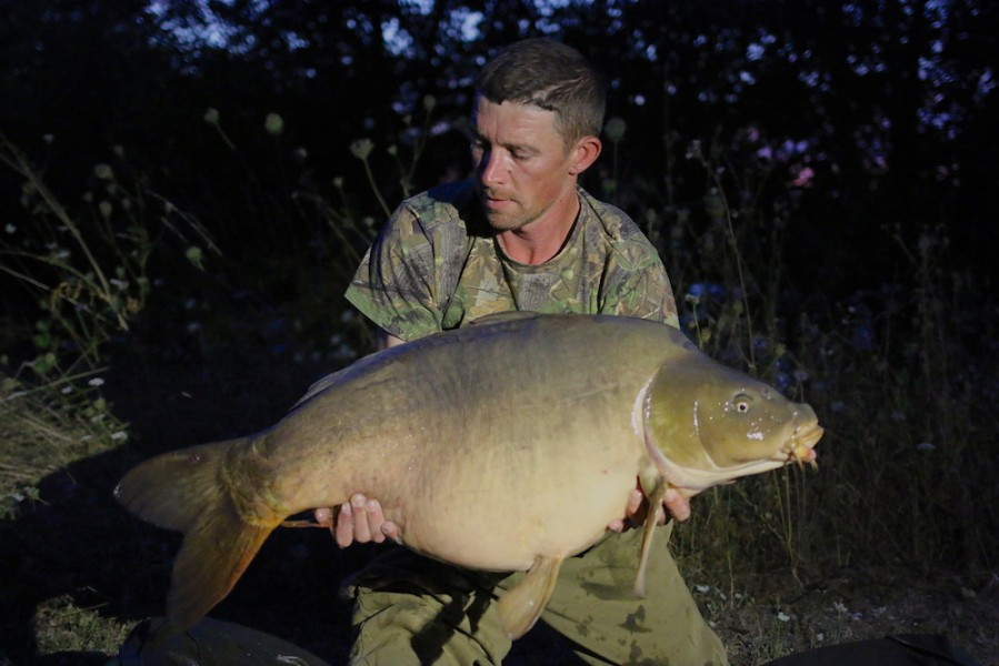 Darryl Juby, 44lb 8oz, Stock Pond, 4.8.18
