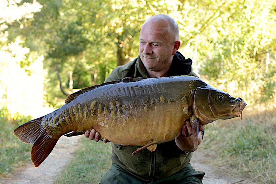 Martin Carefoot, 36lb 8oz, The Stink, 4.8.18
